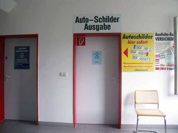 Schilderpartner für Autoschilder in Landau an der Isar