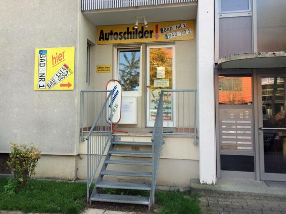 Schillderpartner für Autoschilder in Baden-Baden