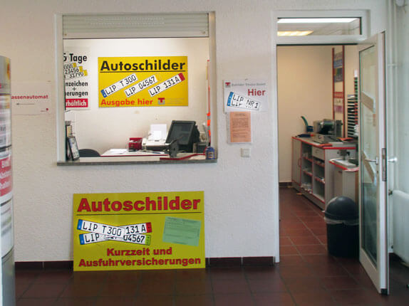 Schilderpartner für Autoschilder in Bad Salzuflen