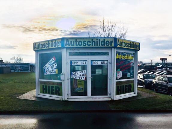 Schilderpartner für Autoschilder in Neuruppin