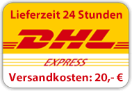 Lieferung mit DHL Express