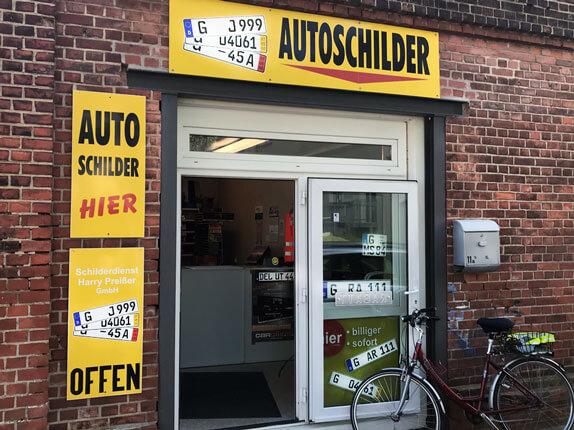 Schilderpartner für Autoschilder in Gera