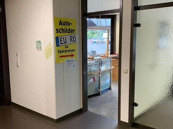 Schilderpartner für Autoschilder in Nordhorn