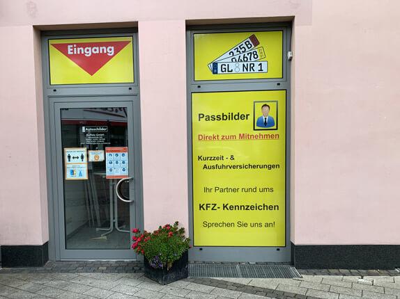 Schilderpartner für Autoschilder in Rösrath