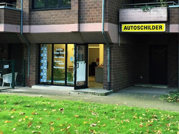 Schilderpartner für Autoschilder in Viersen