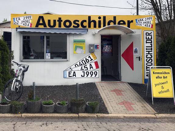 Schilderpartner für Autoschilder in Eisenach