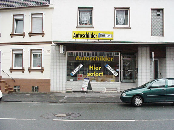 Schilderpartner für Autoschilder in Hamm
