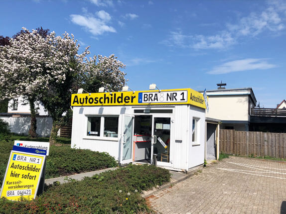 Schilderpartner für Autoschilder in Brake