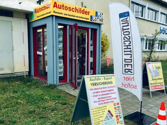 Schilderpartner für Autoschilder in Lörrach