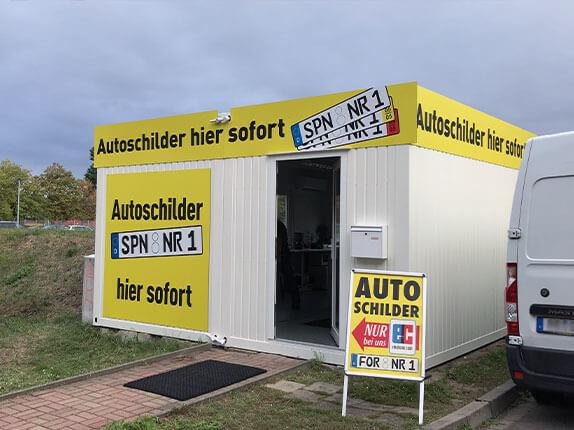 Schilderpartner für Autoschilder in Forst