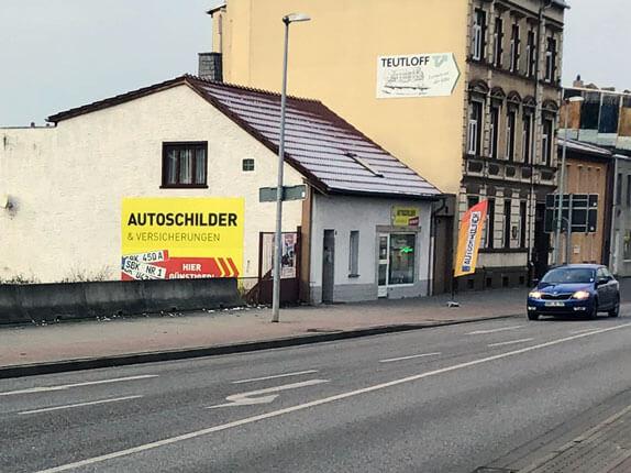 Schilderpartner für Autoschilder in Schönebeck