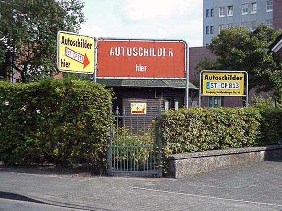 Schilderpartner für Autoschilder in Steinfurt
