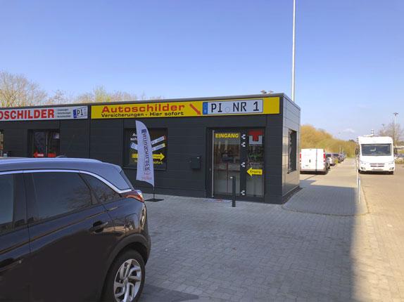 Schilderpartner für Autoschilder in Elmshorn