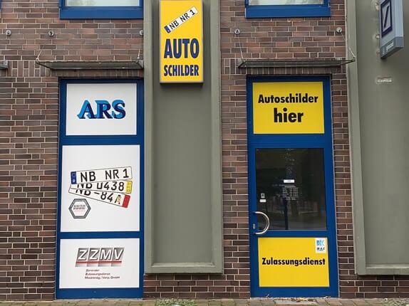 Schilderpartner für Autoschilder in Neubrandenburg
