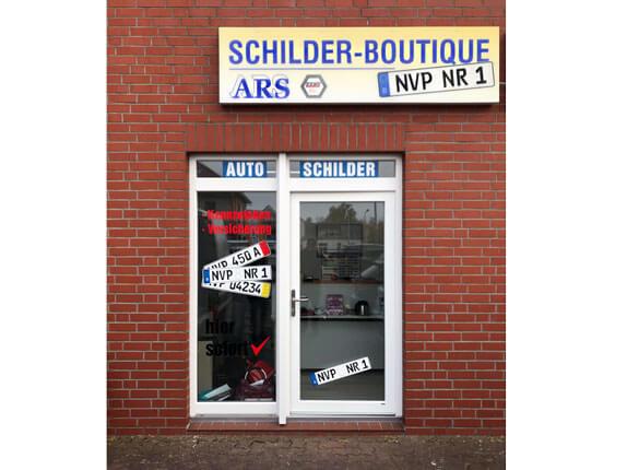 Schilderpartner für Autoschilder in Ribnitz