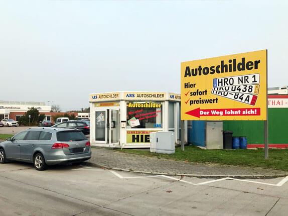 Schilderpartner für Autoschilder in Rostock