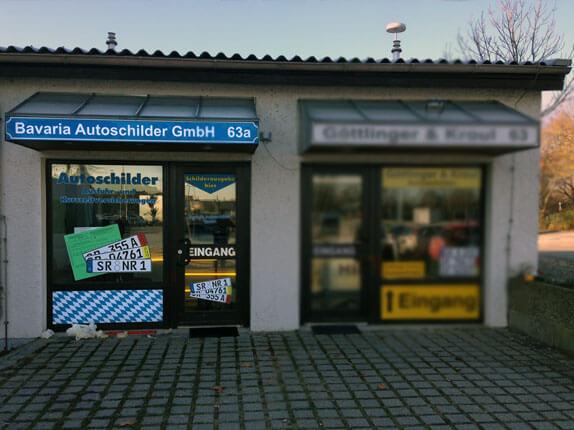 Schilderpartner für Autoschilder in Straubing