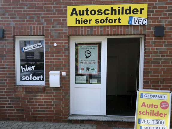 Schilderpartner für Autoschilder in Vechta