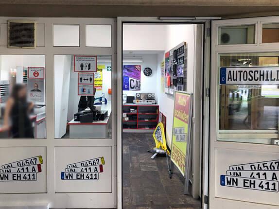 Schilderpartner für Autoschilder in Waiblingen
