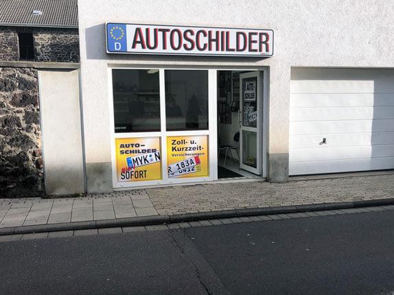 Schilderpartner für Autoschilder in Andernach
