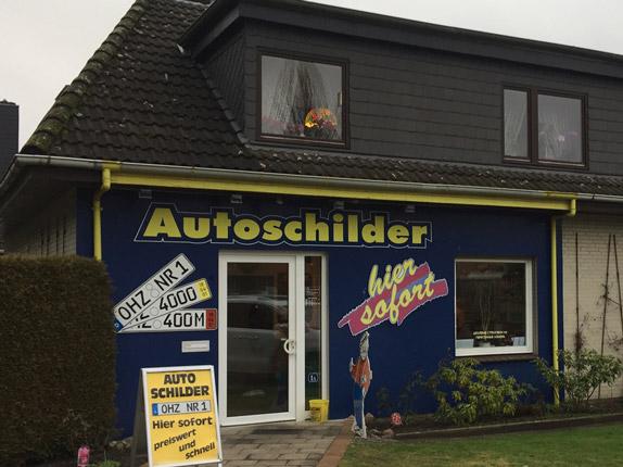 Schilderpartner für Autoschilder in Osterholz-Scharmbeck