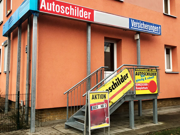 Schilderpartner für Autoschilder in Bernau