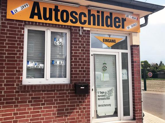 Schilderpartner für Autoschilder in Arnstadt