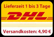 Lieferung mit DHL Paket