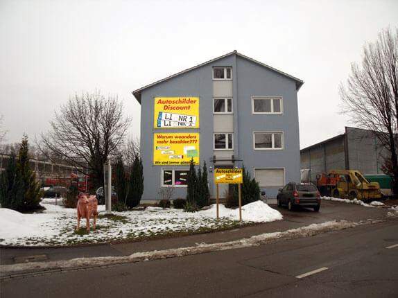 Schilderpartner für Autoschilder in Lindau