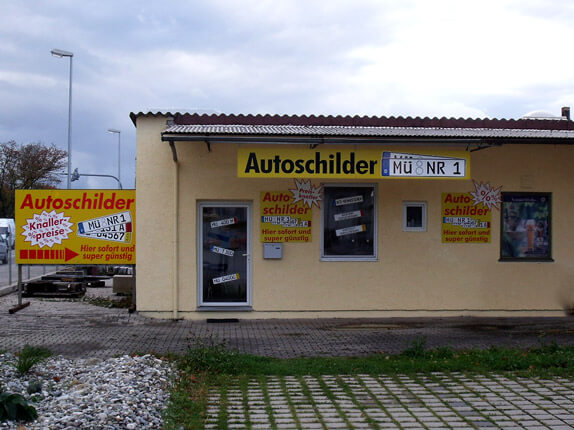 Schilderpartner für Autoschilder in Mühldorf am Inn