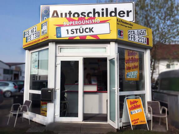 Schilderpartner für Autoschilder in Fürstenfeldbruck