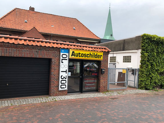 Schillderpartner für Autoschilder in Ganderkesee