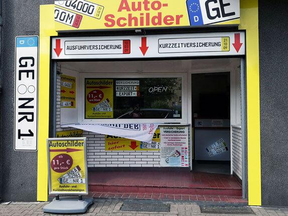Schillderpartner für Autoschilder in Gelsenkirchen