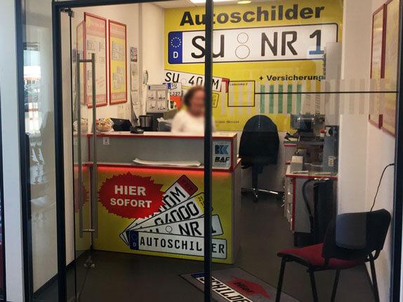 Schilderpartner für Autoschilder in Meckenheim