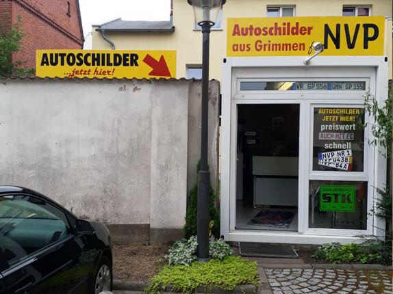 Schilderpartner für Autoschilder in Grimmen