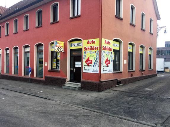 Schilderpartner für Autoschilder in Rottweil