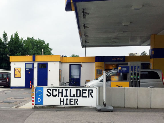 Schillderpartner für Autoschilder in Eggenfelden